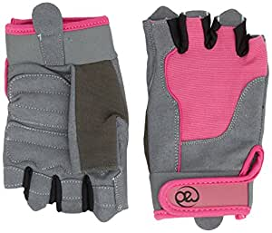 Yoga-mad Women's Cross Training Gloves - Pink, Small
