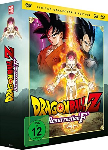 Dragonball Z: Resurrection 'F' – Limited Collector's Edition (DVD, Blu-ray & 3D-Blu-ray) [Limited Edition]