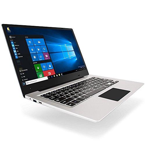 Jumper EZBOOK 3S - 14.1 Pulgadas Laptop Windows 10 Home Intel Celeron Processor N3450 Quad Core de 1.1GHz 6GB RAM + 256GB SSD - Plata