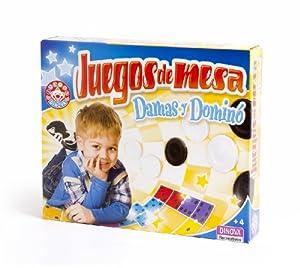 Dinova - Mis primeros juegos de mesa: damas y dominó (D0628049)