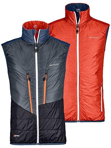 Herren Snowboard Jacke Ortovox Swisswool Piz Cartas Vest