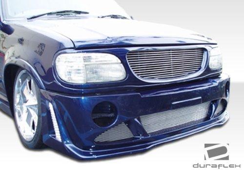 1995-2000 Ford Explorer Platinum Duraflex paraurti anteriore model base), 1 pezzo da Duraflex
