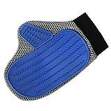 Newcomdigi Tierhaarentferner Handschuh Fellpflegehandschuh Massagehandschuh