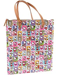 Sac Shopping Hello Kitty By Camomilla beige