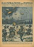 Un eroico manipolo. Un gruppo di 250 paracadutisti tedeschi, munito di armi automatiche, di radio e di biciclette smontabili, scese sul territorio norvegese presso Dombas che si trova sulla linea fer