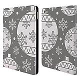 Head Case Designs Bälle Silber Urlaub Kollektion Brieftasche Handyhülle aus Leder für iPad Air 2 (2014)