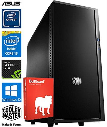 SNOGARD Advanced Gaming / Multimedia PC | Intel® Core i5-8600K 6x 3600MHz | 16GB DDR4 | 240GB SSD | 6GB NVIDIA ASUS GeForce GTX 1060 mit DirectX12 Technology | Desktop Gaming System