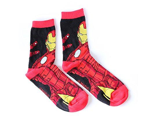 iron-man-personnages-disney-chaussettes-a-enfants-bonne-qualite