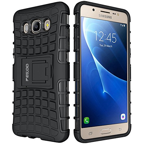 Galaxy J5 Hülle (2016),Schutzhülle für Samsung Galaxy J5 (2016) 5.2 Zoll (Schwarz)