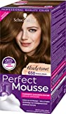 Schwarzkopf Perfect Mousse Permanente Schaumcoloration, 650 Bronze-Braun Stufe 3, 3er Pack (3 x 93 ml)