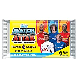 EPL Match Attax 2017/18 Trading Card Game