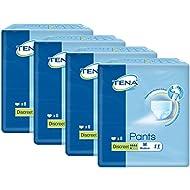 TENA Pants Discreet (Medium) - Schutzhosen für mittlere Blasenschwäche / Inkontinenz, 4 er Pack (32 Einweghosen)