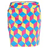 Royal & Awesome Damen Rock Knicker Blocker Glory Ladies Skort, Multicolour, 34,