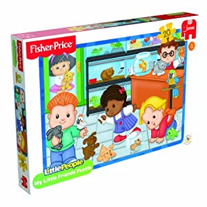 Fisher-Price Little People - Rompecabezas Little People de 20 Piezas (Jumbo 17288)