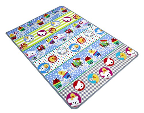 itsImagical Fold & Go! XL Area Bbfitness, manta de juegos plegable para bebés (Imaginarium 87176)