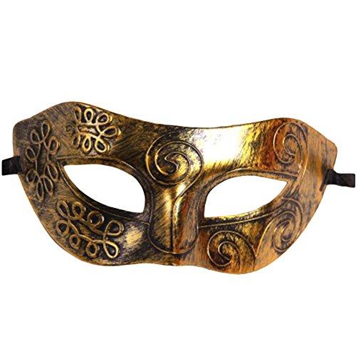 (Black Temptation PVC-Halloween-Maske Edel-Maskerade-Partei-halbe Gesichtsmaske-A2)