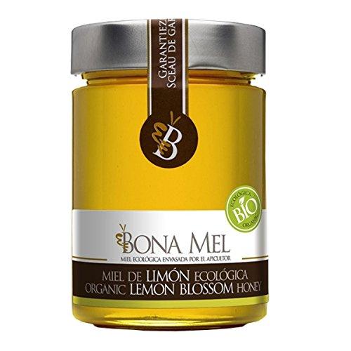 100% roher Bio Zitronen-Honig, reine Imkerabfüllung aus Spanien, nur eigene Bienen (Bio-bienenhonig)