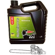 Aceite Eni - Agip Para Motosierras. Cadenas 5L. (40 - 50)