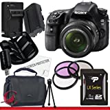 Sony Alpha SLT-A58K SLT-A58 DSLR Digital Camera With 18-55mm Lens 8GB Package