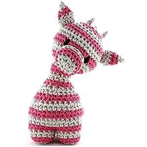 Hoooked Zpagetti Hoooked Maxigurumi Girafe Au Crochet, Trousse
