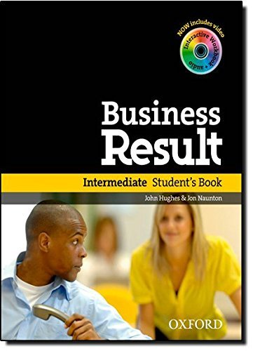 Business Result: Intermediate: Student's Book with DVD-ROM and Online Workbook Pack by John Hughes & Jon Naunton (2012-02-16)