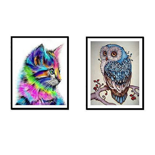 5D von Nummer Kits Owl & Cat -
