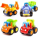 Cable World® Unbreakable Automobile Car Toy Set (Set Of 4, Multicolor)