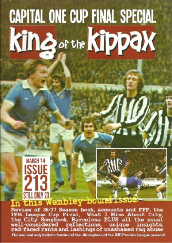 king-of-the-kippax-issue-213-march-2014-capital-one-cup-final-special-english-edition