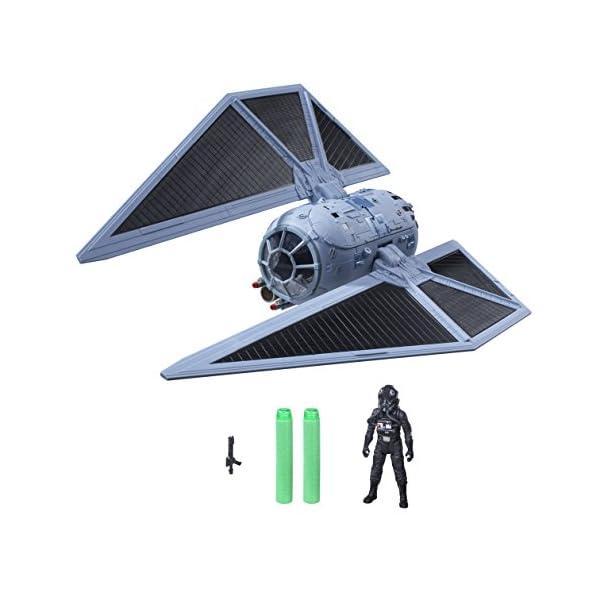 Star Wars Rogue One - Set con Figura, vehículo y Dardos Nerf Tie Striker (Hasbro B7105EU4) 1