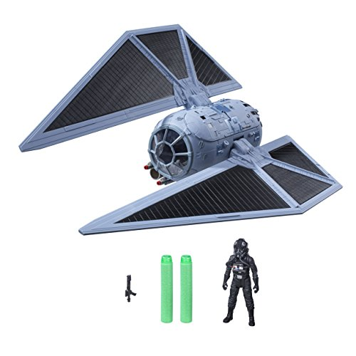 Hasbro Star Wars B7105EU4 Rogue One Fahrzeug - Tie-Striker mit 3,75 Zoll Figur, Actionfigur (Star Wars-flotte)