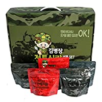 [Kim Byeong Jang]Korea Military Food Camping Rice Meal C Ration military foods MRE 10Pcs Set Combat Emergency Rations Outdoor 1
