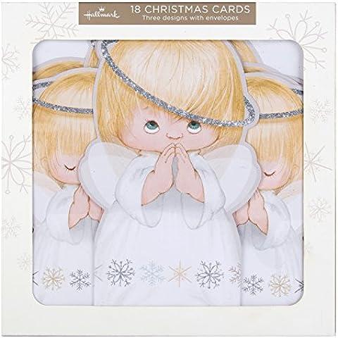 Hallmark–Tarjeta de felicitación (Pack de tarjetas de Navidad Tarjetas de Sweet Angels '–18,