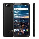 BLUBOO D6 Android 8.1 Gesichts-ID 16 GB + 2 GB 5,5 Zoll Mobiltelefon MT6580A Vier Kern 2700mAh Dual Back Kameras Fingerabdruck Entsperren 3G WCDMA Dual-SIM Smartphone