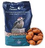 CJ Wildlife 200010815 Wildvogel-Futter Premium Erdnüsse 1 kg - empfohlen vom NABU und dem LBV