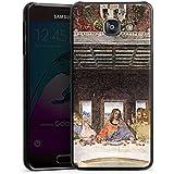 Samsung Galaxy A3 (2016) Housse Étui Protection Coque Léonard de Vinci La Cène Art