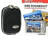 Foto Kamera Tasche Hard-BOX black plus Foto Handbuch Ihre Canon Powershot