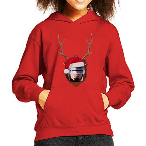 robocop-christmas-antler-head-kids-hooded-sweatshirt