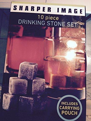 sharper-image-10-piece-drinking-stone-set-by-sharper-image