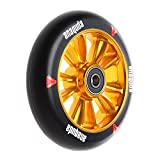 Anaquda Engine Forged Stunt-Scooter Wheel 110mm + Abec9 Kugellagern Gold