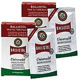 BALLISTOL Pflegetücher 2 Schachteln mit 10 Stück Öltücher