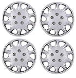 "Wheel Trims 15"" RENAULT CLIO 98-01 Set of 4 Covers + Valve Caps & Ties"