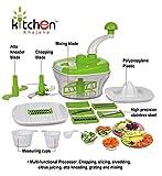 Kitchen Khajana™ 10 in 1 Piece Dough Maker, Vegetable Cutter, Slicer, Dicer, Atta Kneader (Food Processer)