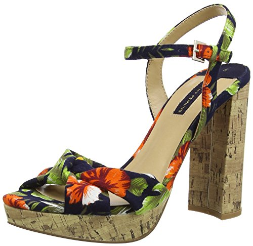 Dorothy Perkins Damen Floral Siri Knot Pumps Multicolour (Multi Bright)