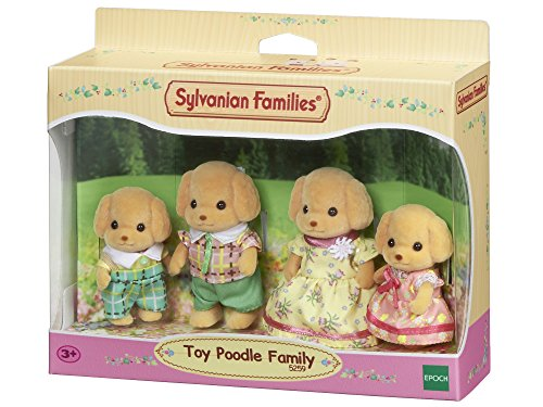 Sylvanian Families 5259 Toy-Pudel Baby, Mini Puppe, Multi -