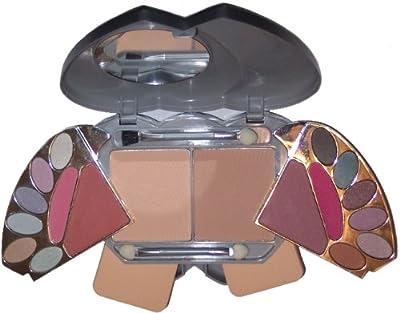 2-in-1 Make-up Box Herz Schminkkassette Schminkbox