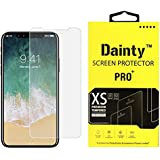 Dainty Tempered Glass Screen Guard for Apple Iphone X (5.8 inch)