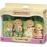 Sylvanian Families - Familia Perros caniche (Epoch para Imaginar 5259)