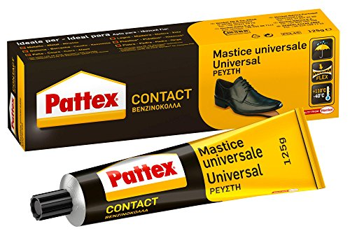 Pattex Cola de contacto universal instantánea multiusos, a prueba de agua, 125ml