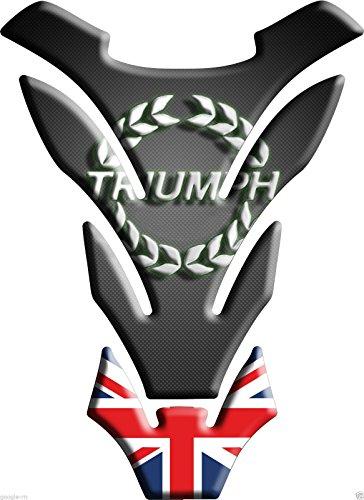 Tankpad Motorad Draht Muster Tankschutz ' Triumph Union Jack DETROIT'' Polymer 3D 3d Jack