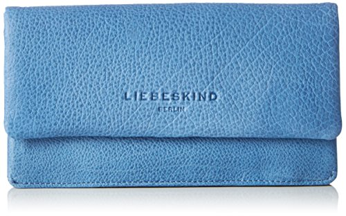 Liebeskind Berlin - Slams7 Solid, Portafoglio Donna Blu (Sea Blue)